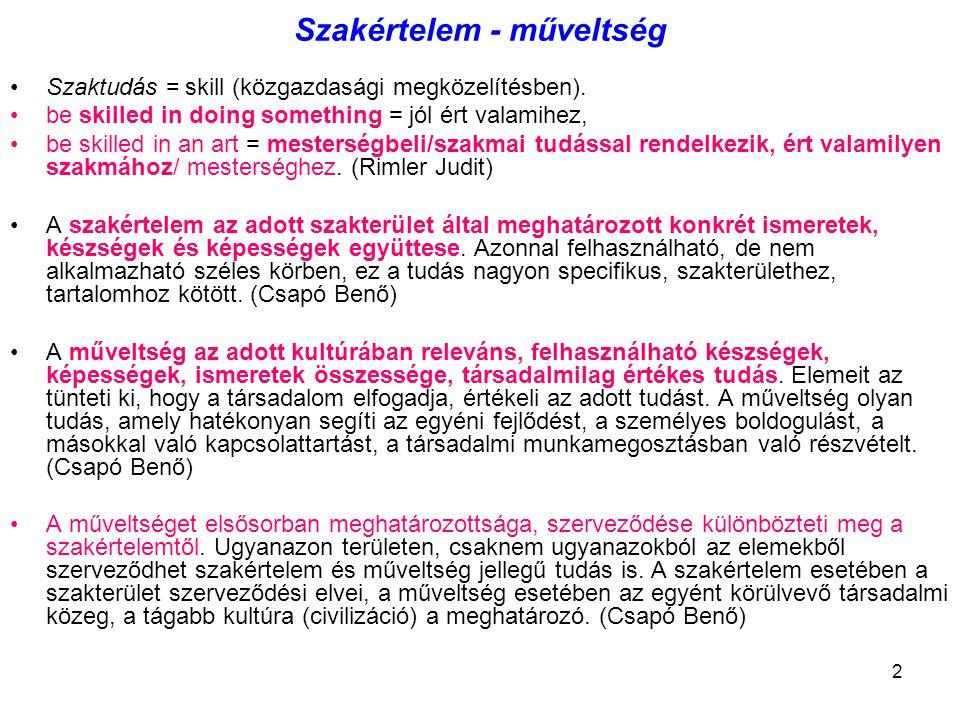 23 OKOK 1 – Az autonómia.A hazai oktatás autonómiája - szocialista típusú önigazgatás.
