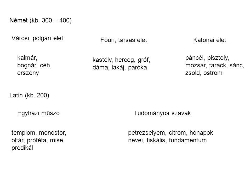 Német (kb.