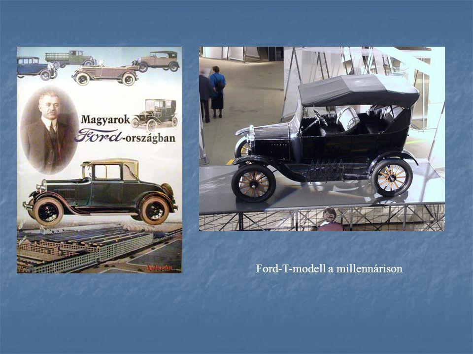 Ford-T-modell a millennárison