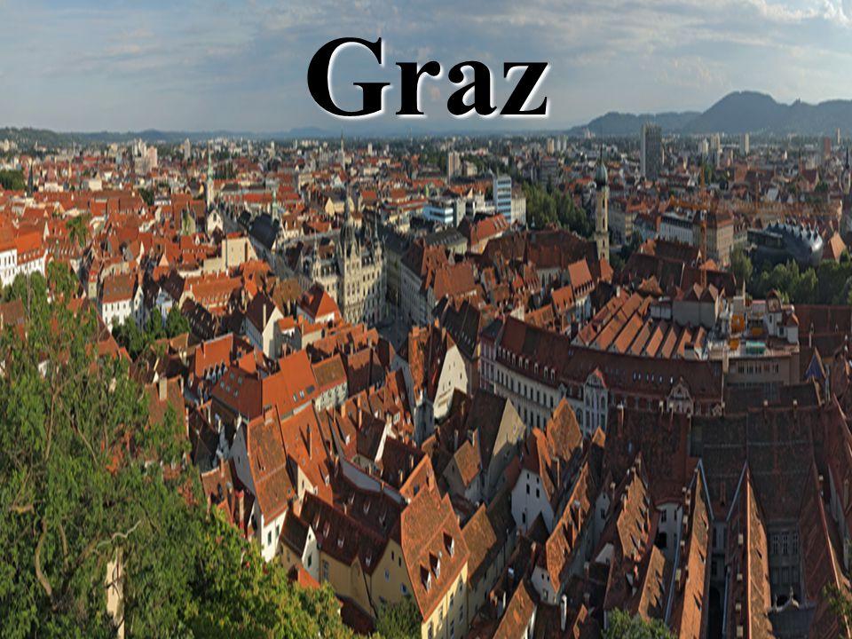 Graz régen… Első okleveles említése 1128-ból származik Első okleveles említése 1128-ból származik 1494 óta tartományi székhely 1494 óta tartományi székhely 1585.