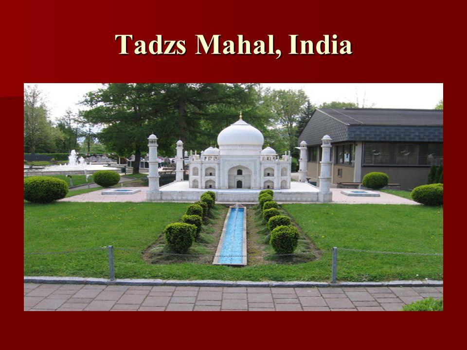Tadzs Mahal, India