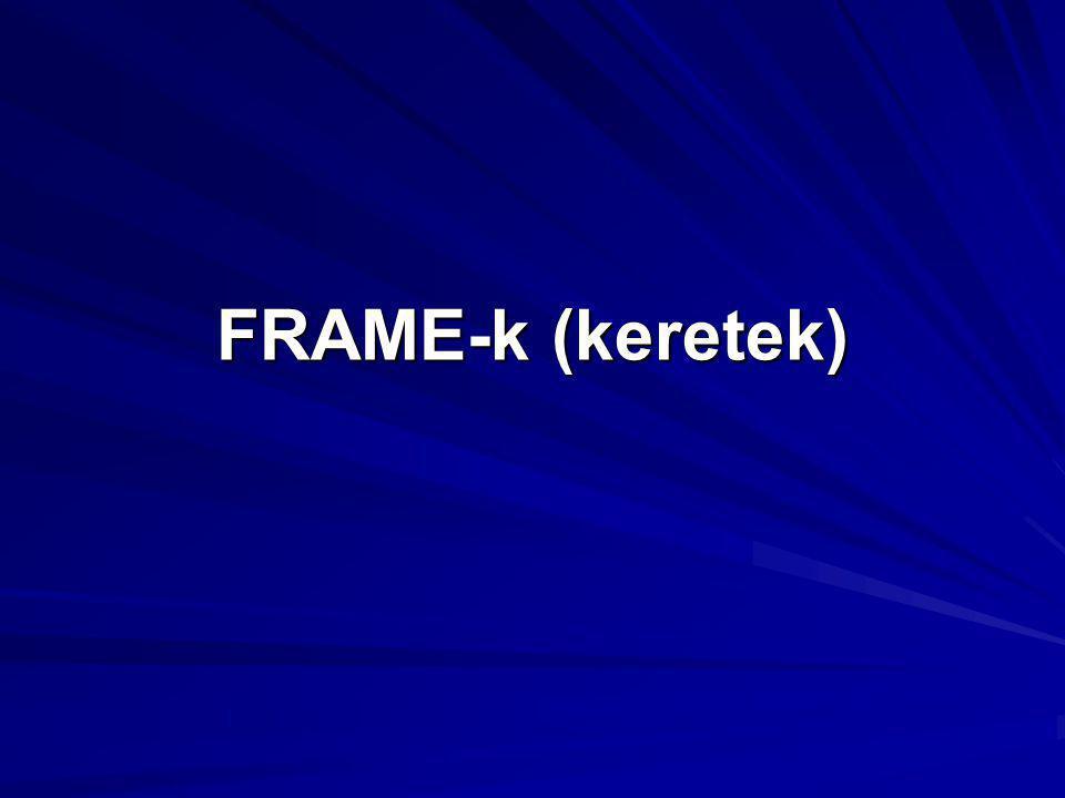 FRAME-k (keretek)