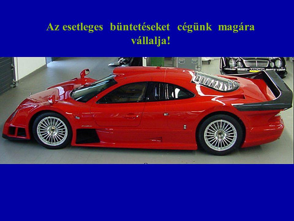 Sajnos Budapestről repülünk. Ezért mindannyiuk számára megfelelő autót biztosítunk!