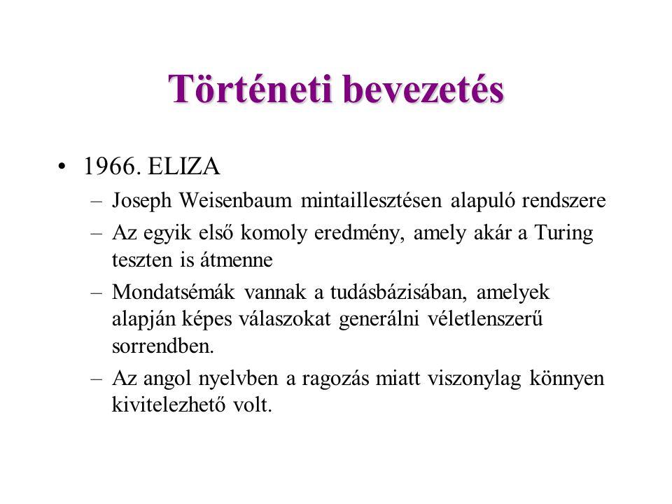 Történeti bevezetés 1966.