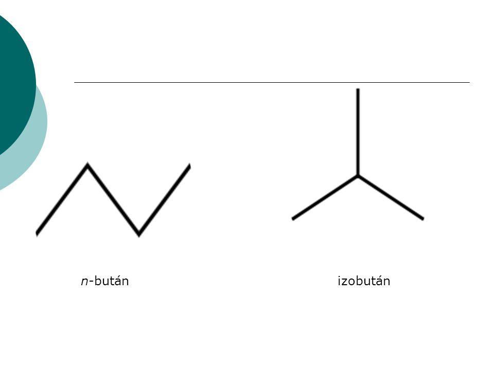 n-bután izobután