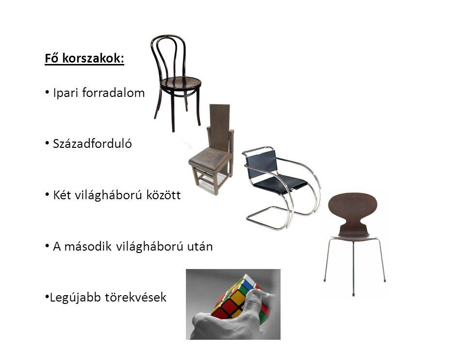 Bauhaus az első fémcsőből hajlított – a későbbiekben Wassily néven ismert – széket Breuer Marcel tervezte 1925-ben a korszak jellemzője K.
