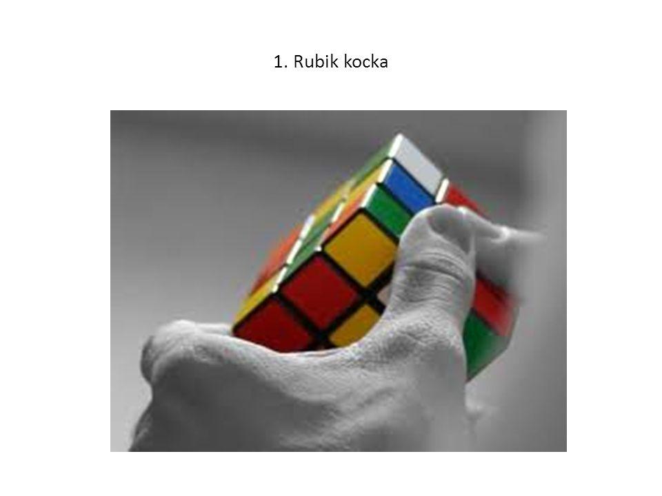 1. Rubik kocka