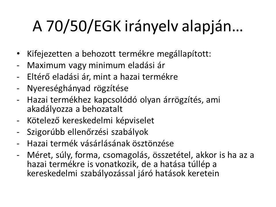 A Bíróság joggyakorlata… 8/74.sz.