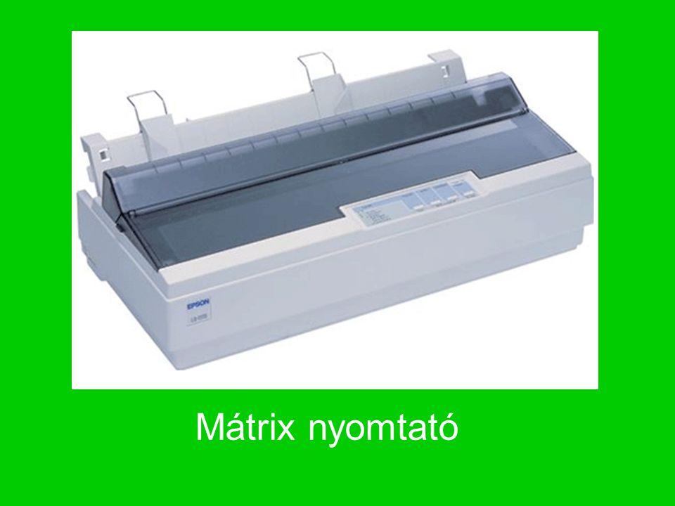 Tintasugaras nyomtató Maga a tinta a tintatartályokban helyezkedik el, ez a tintapatron amely vékony csöveken keresztül kapcsolódik a nyomtatófejhez.