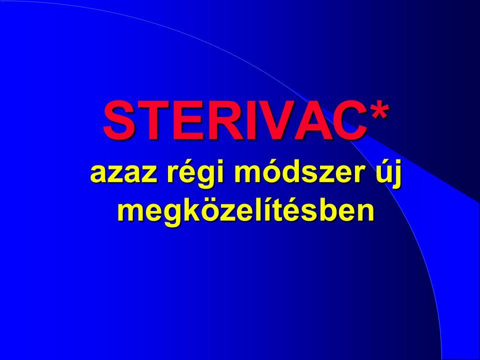 STERIVAC* azaz régi módszer új megközelítésben