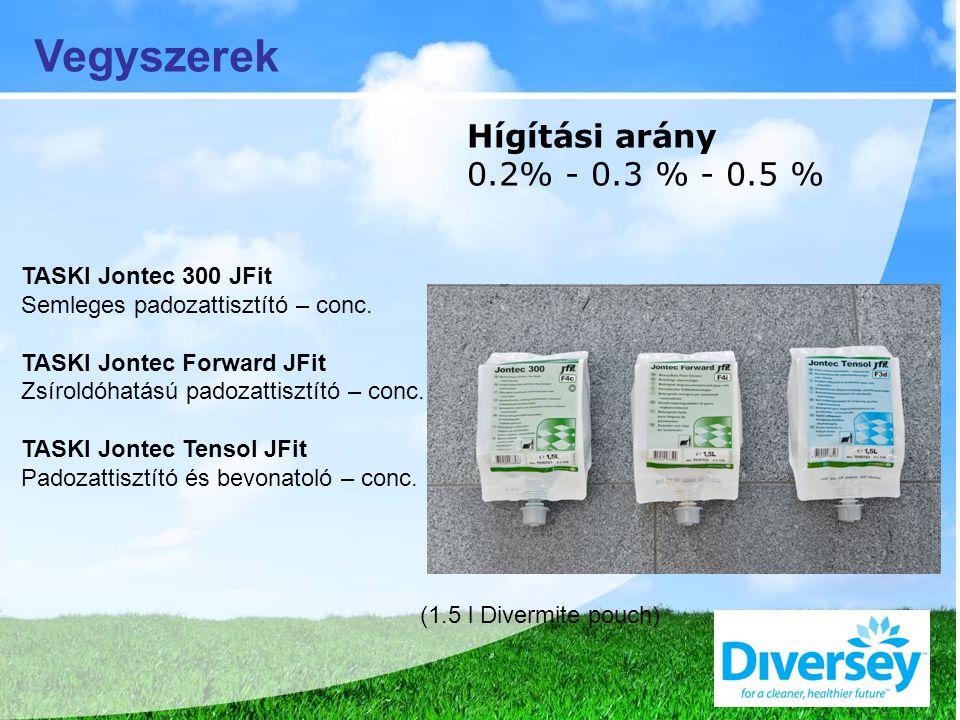 TASKI Jontec 300 JFit Semleges padozattisztító – conc.