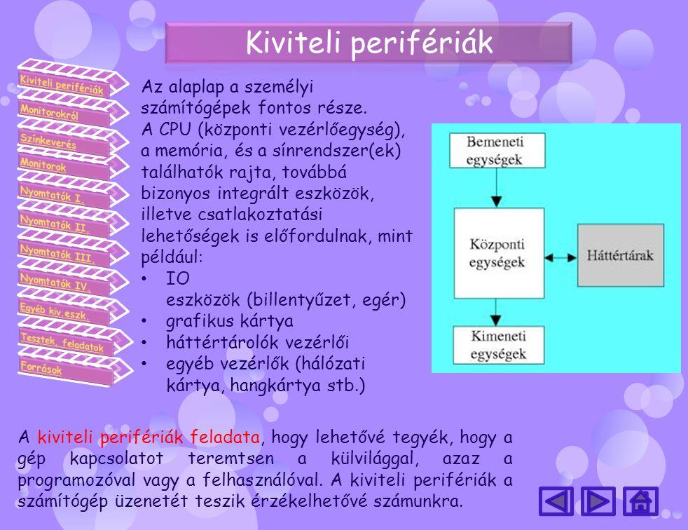 Az alaplap a személyi számítógépek fontos része. A CPU (központi vezérlőegység), a memória, és a sínrendszer(ek) találhatók rajta, továbbá bizonyos in