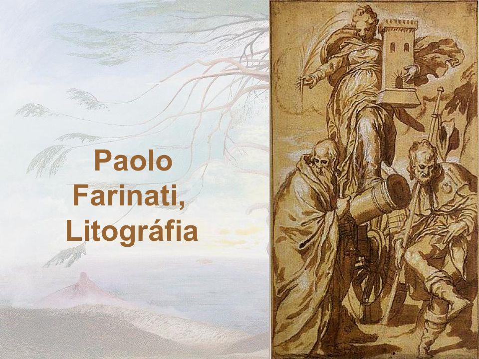 Paolo Farinati, Litográfia
