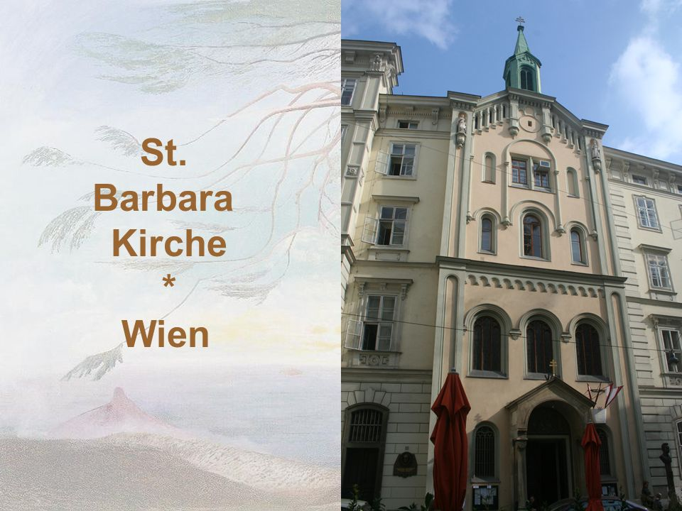 St. Barbara Kirche * Wien