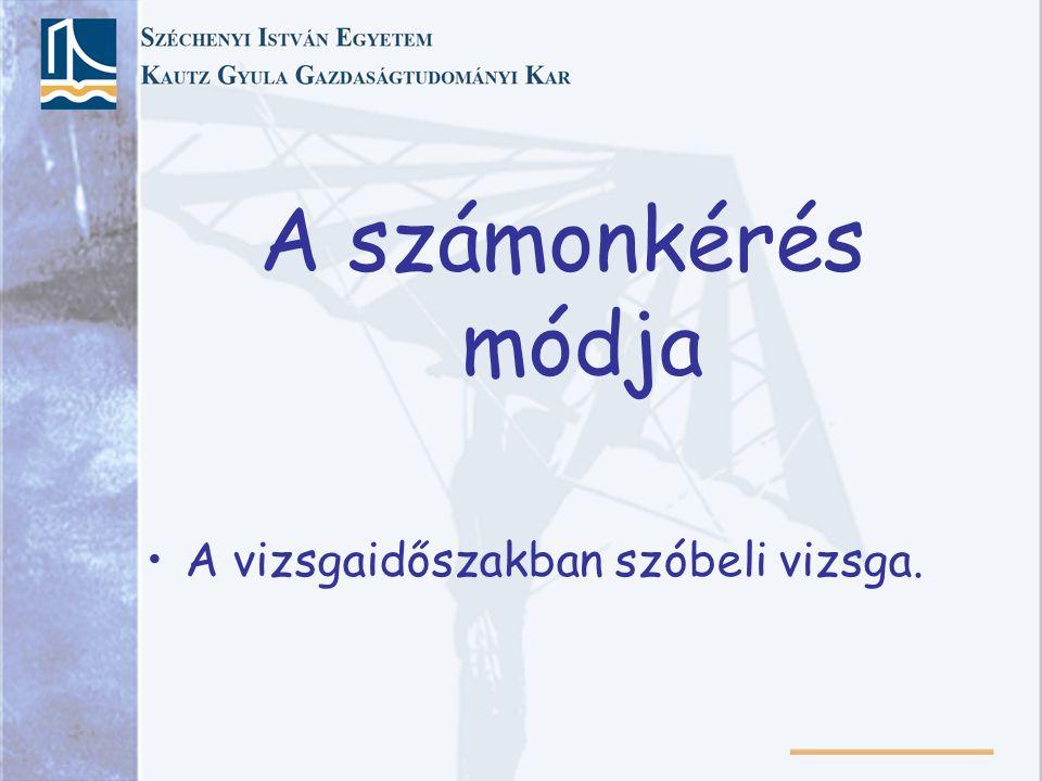 Kötelező irodalom Magyar Gábor: Pénzügyi navigátor. Szerzői kiadás, Budapest, 2007.