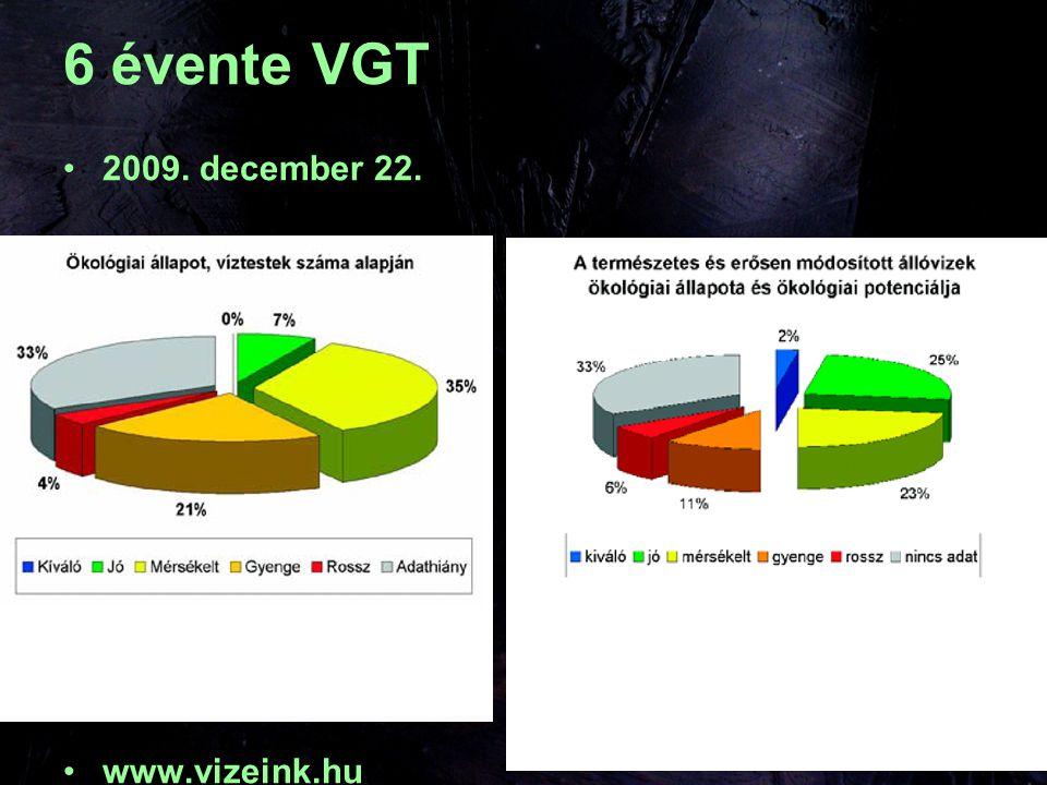 6 évente VGT 2009. december 22. www.vizeink.hu