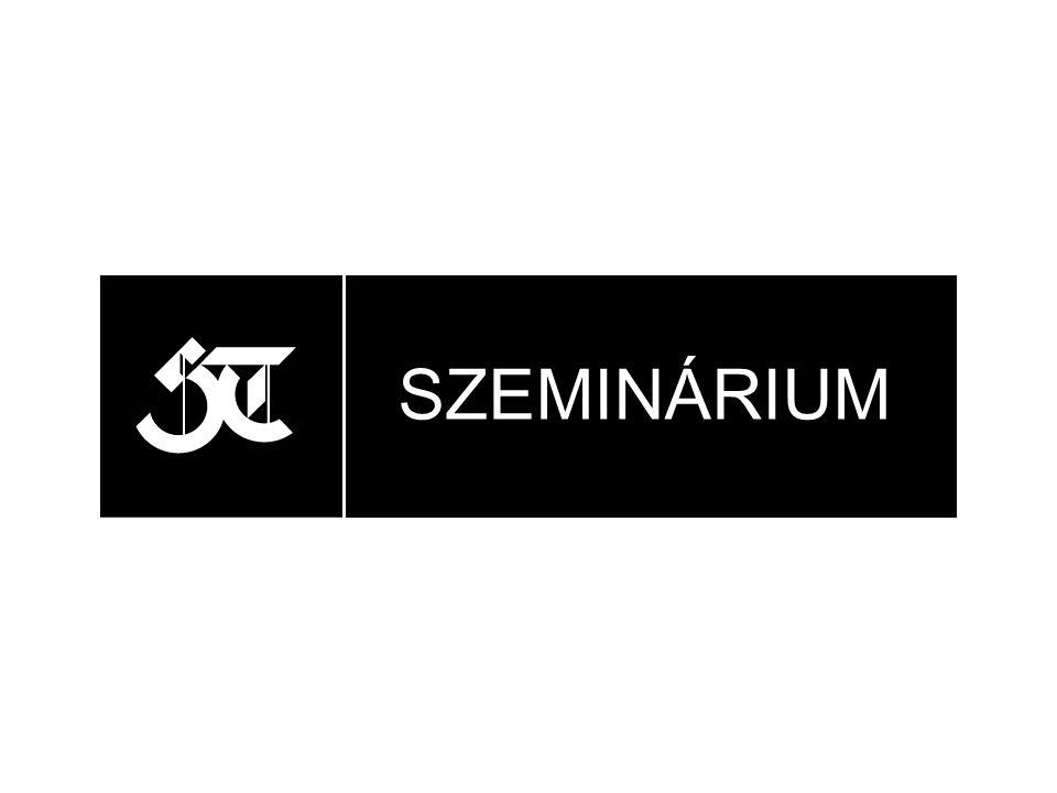 SZEMINÁRIUM