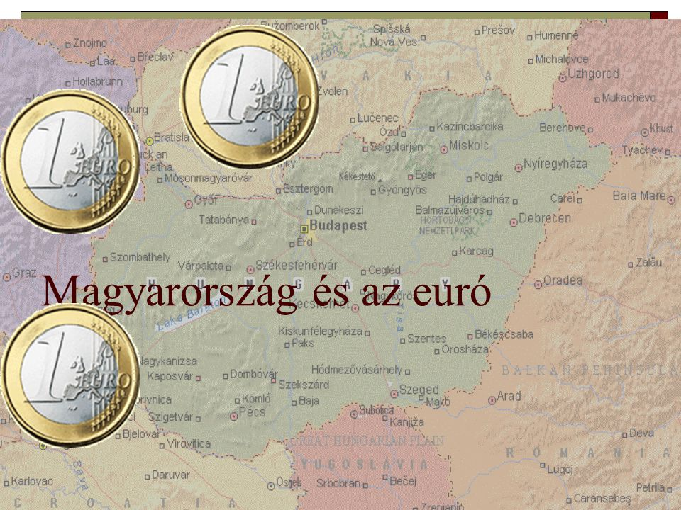 Az euró bevezetése és Magyarország: az eddigi történet  2003.