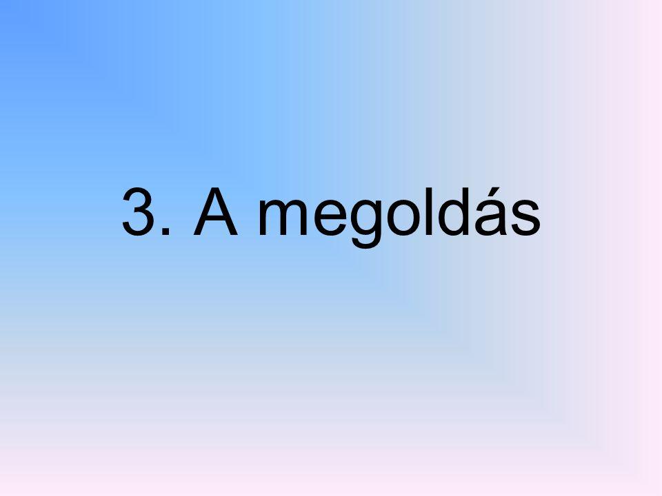 3. A megoldás