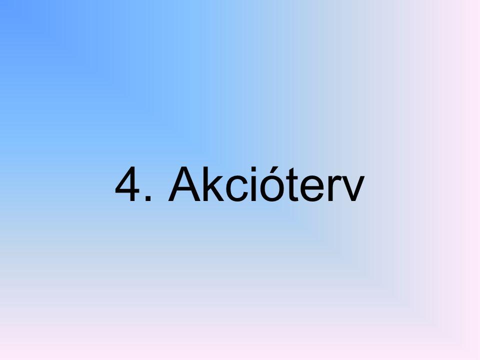 4. Akcióterv
