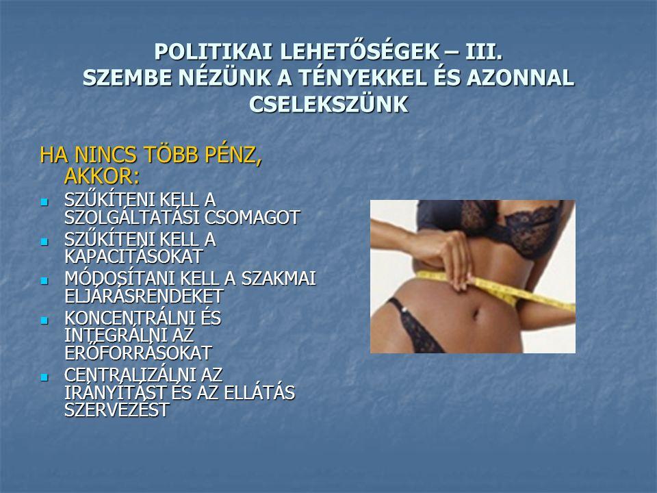 POLITIKAI LEHETŐSÉGEK – III.