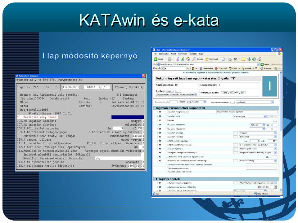KATAwin és e-kata