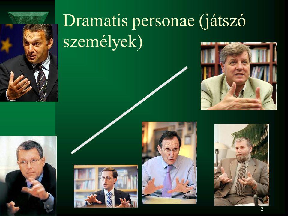 2 Dramatis personae (játszó személyek)