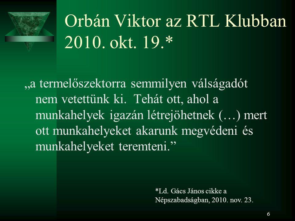 6 Orbán Viktor az RTL Klubban 2010. okt.