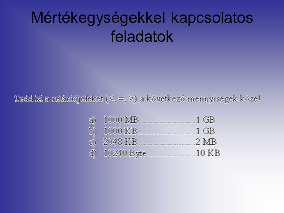Cellák formázása Szegély és mintázat Igazítás Elforgatás Egyesítés Egyszerű formátumok (pénz, dátum…)
