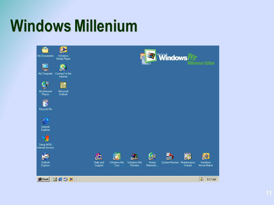 Windows Millenium 11