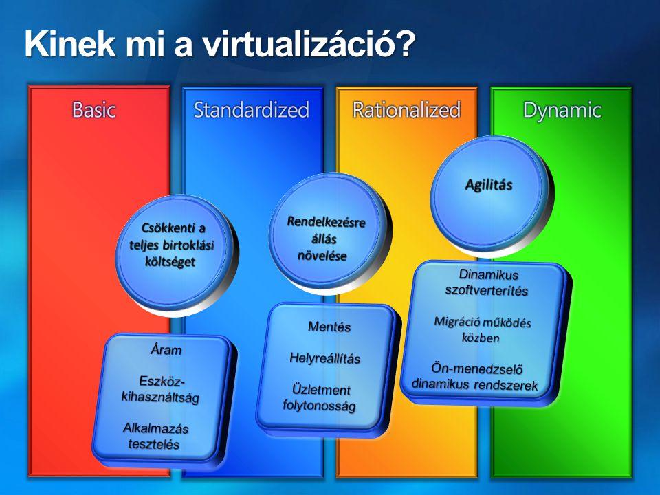 Kinek mi a virtualizáció