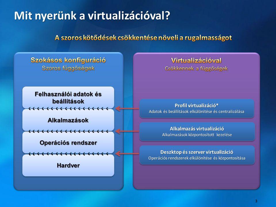 Mit nyerünk a virtualizációval
