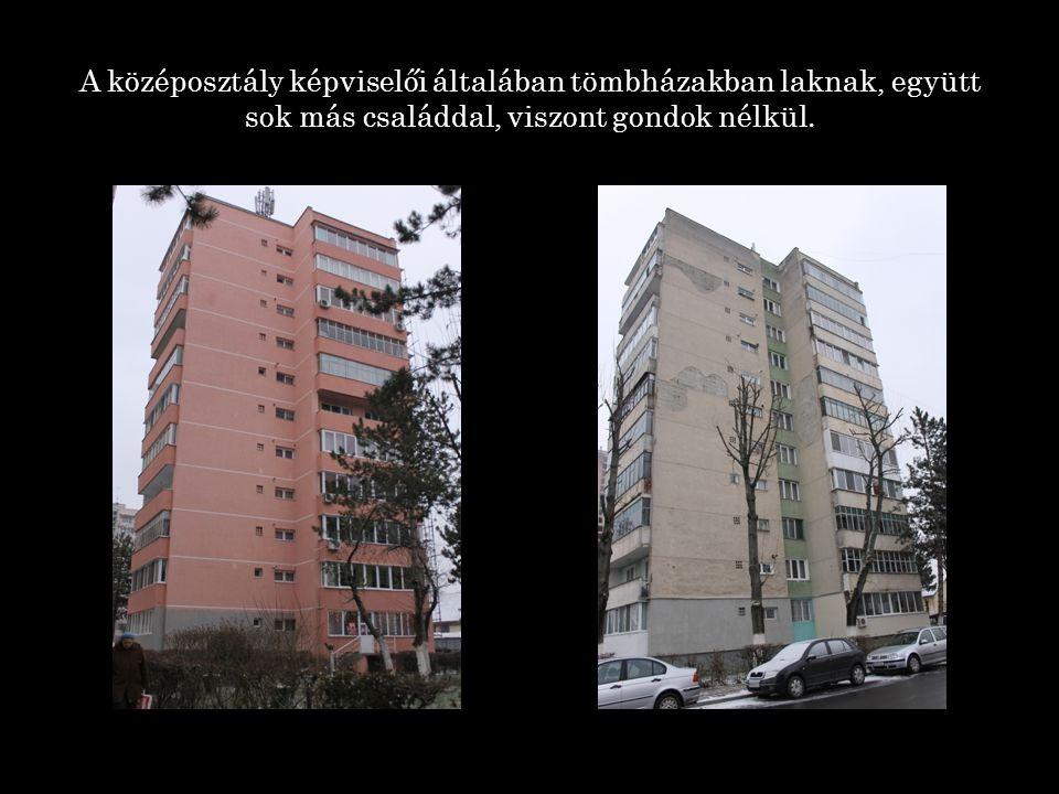 Az alsó réteg képviselői pedig ilyen típusú elhagyatott helyeken húzzák meg magukat, jobb esetben speciális otthonokban is lakhatnak, vagy bérelhetnek 1 szobás lakást.
