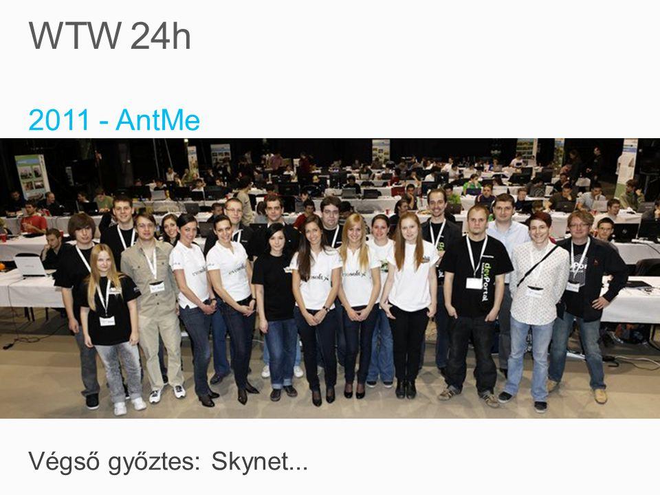 2011 - AntMe Végső győztes: Skynet...