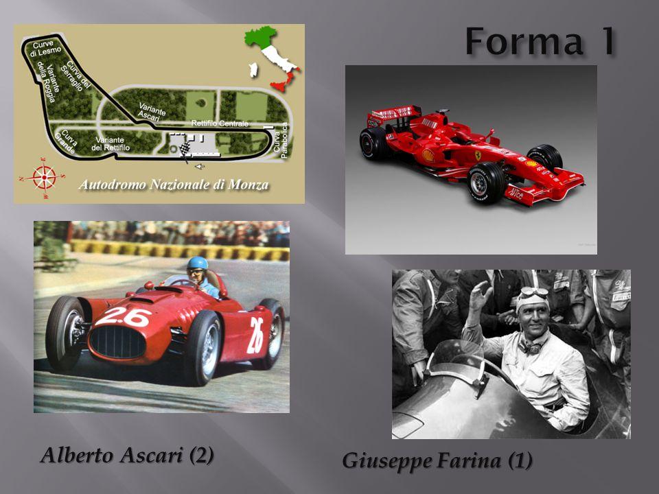 Alberto Ascari (2) Giuseppe Farina (1)