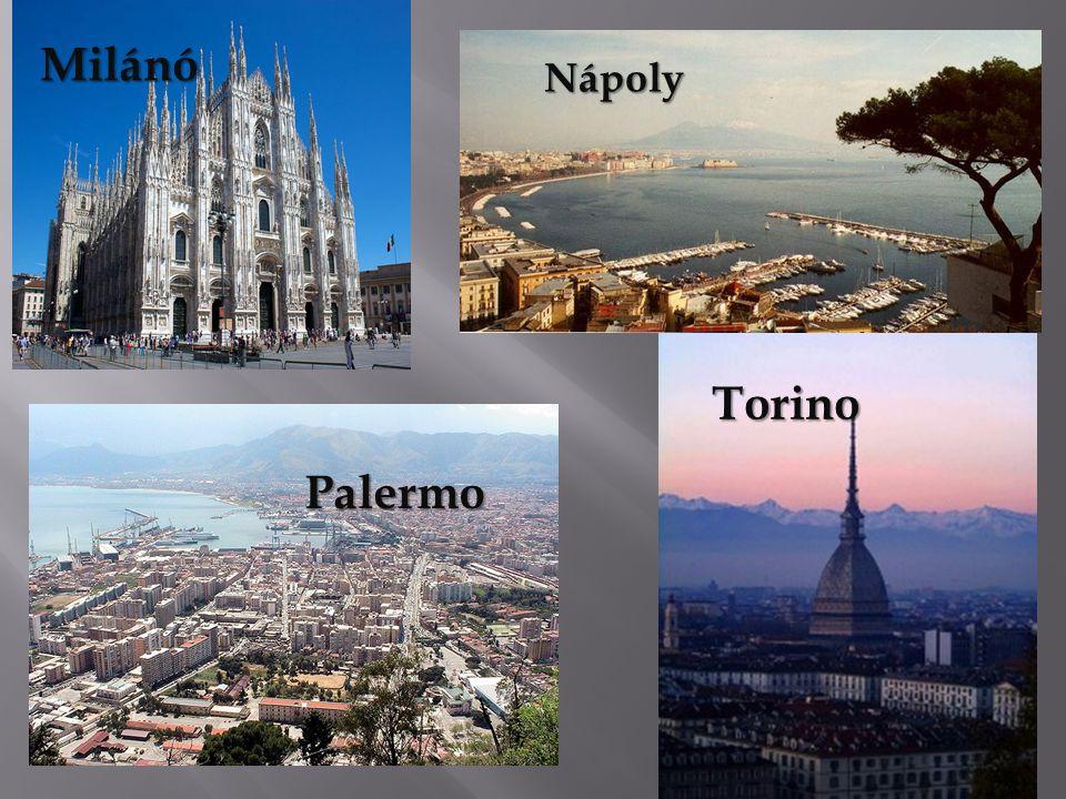 Nápoly Torino Palermo Milánó
