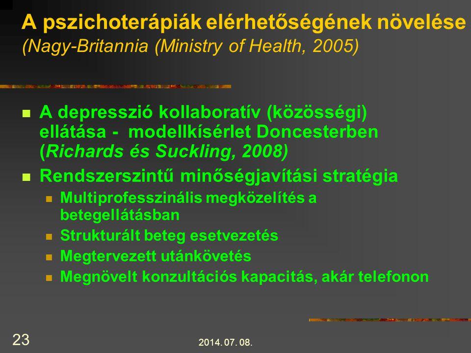 2014.07. 08. 24 40 randomizált kontrollált vizsg.