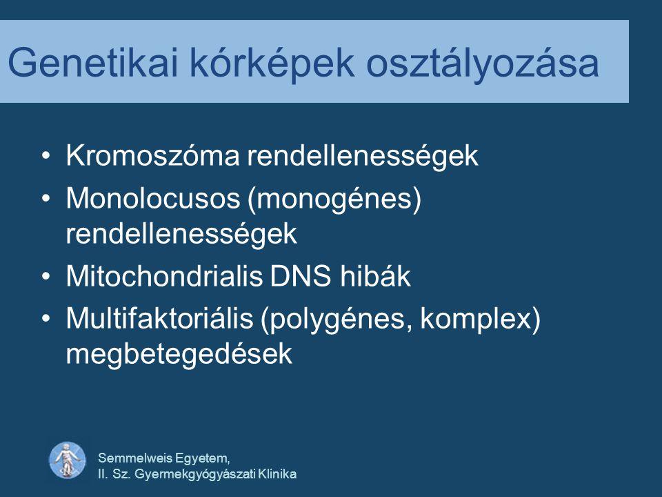 Semmelweis Egyetem, II.Sz. Gyermekgyógyászati Klinika Fejlődéstan Leíró Mi történik.