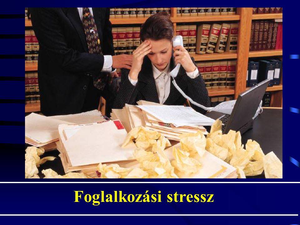 Foglalkozási stressz