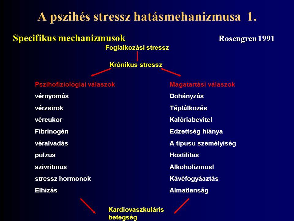 A pszihés stressz hatásmehanizmusa 1.