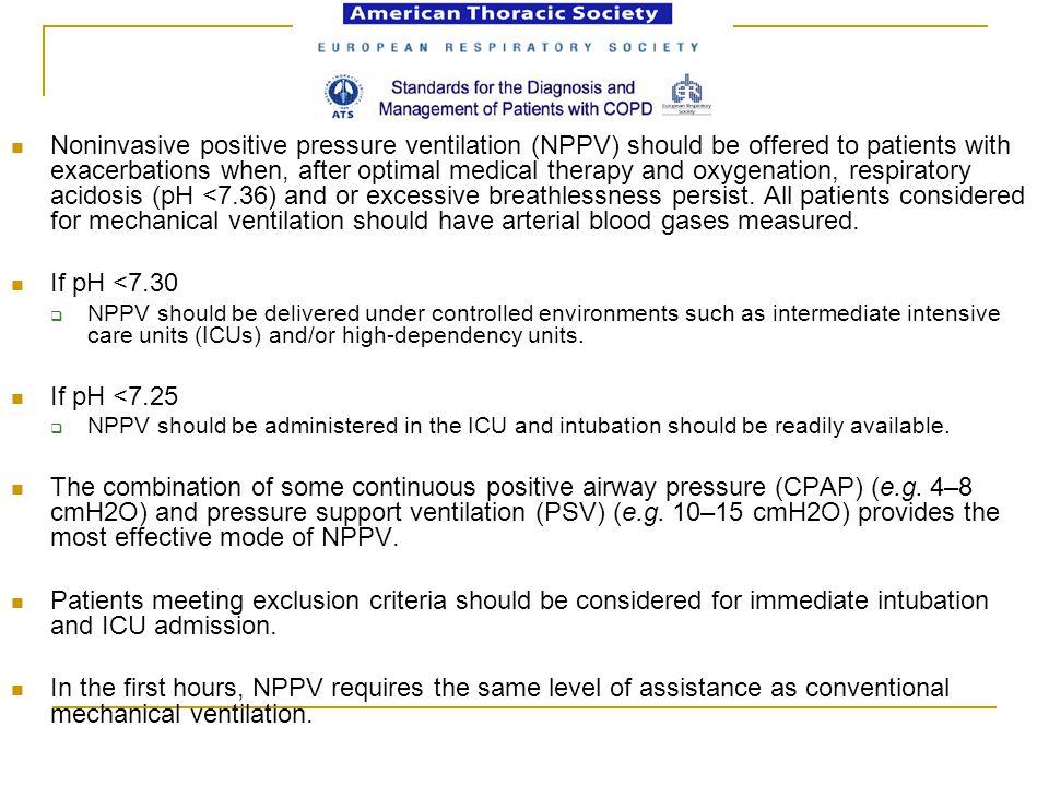 NIV Maszkos légzéstámogatás FRC megmarad, lassabban csökken Oxigenizáció Légzési munka csökken Ventilláció emelkedik A beteg pihen Inhalációs kezelés Váladék oldás Oedema csökkentés Gyógyszerbevitel (bronchodilatátorok) Alacsony FiO2 IPPB, Fizioterápia Oxigén igényes Megterhelő Effektív recruitment Effektív váladék bobilizáció