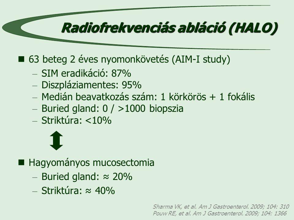 Sharma VK, et al.Am J Gastroenterol. 2009; 104: 310 Pouw RE, et al.