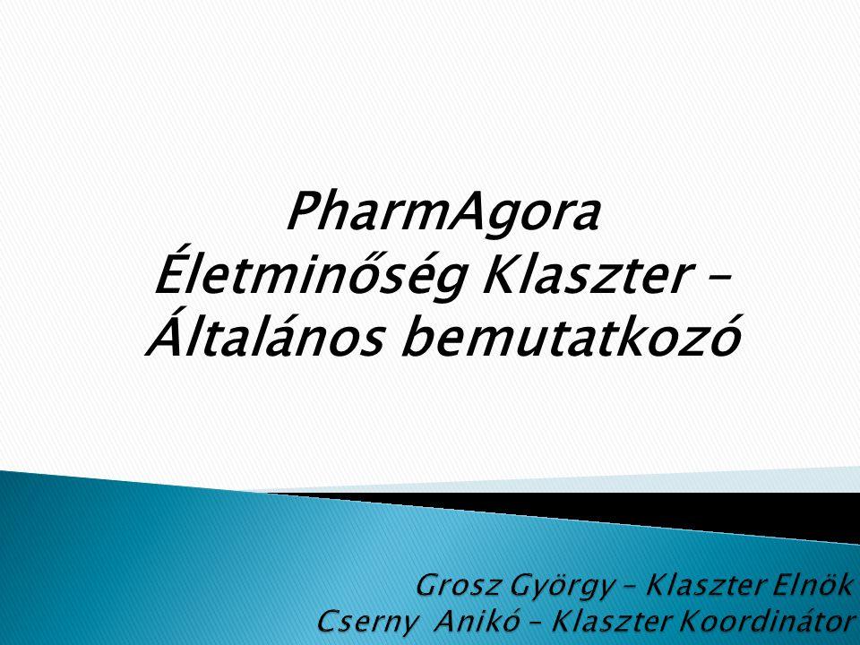 PharmAgora Életminőség Klaszter – Általános bemutatkozó