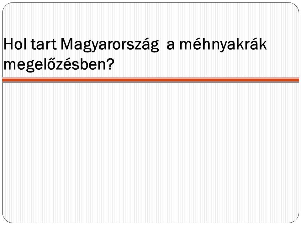 Hol tart Magyarország a méhnyakrák megelőzésben?