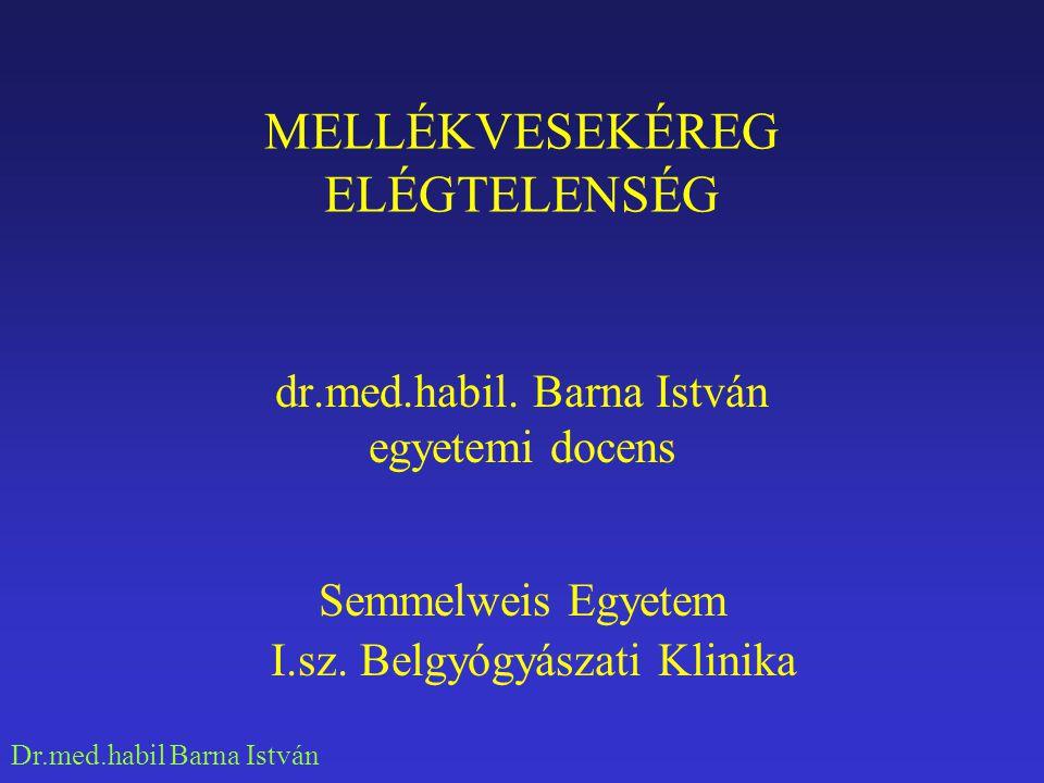 Dr.med.habil Barna István NORMÁLIS MELLÉKVESÉK