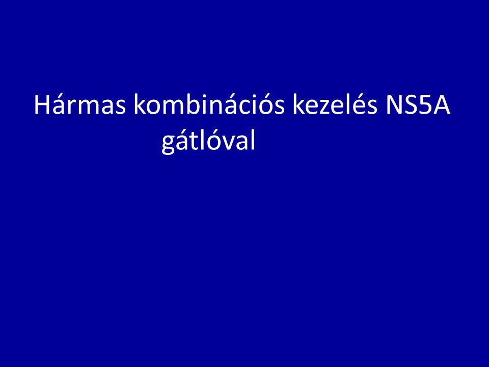 Hármas kombinációs kezelés NS5A gátlóval