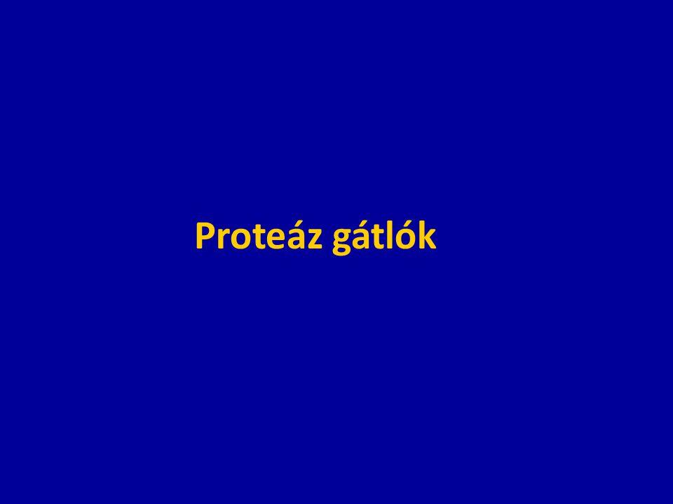 Proteáz gátlók