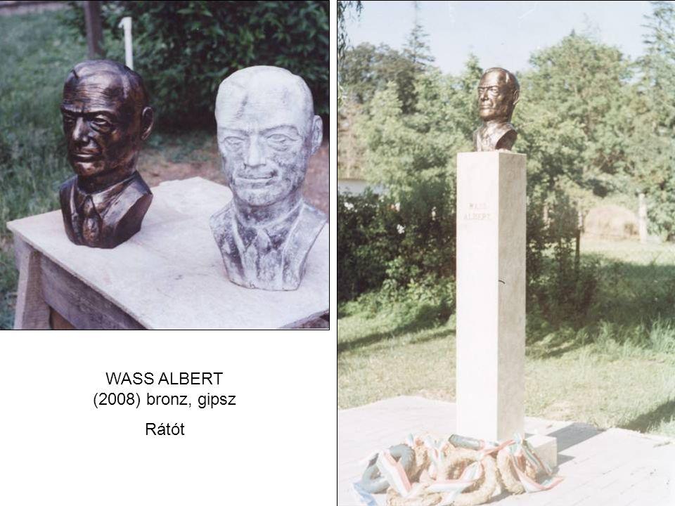 WASS ALBERT (2008) bronz, gipsz Rátót