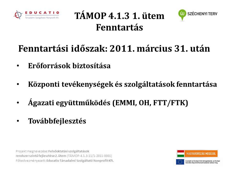 TÁMOP 4.1.3 1.