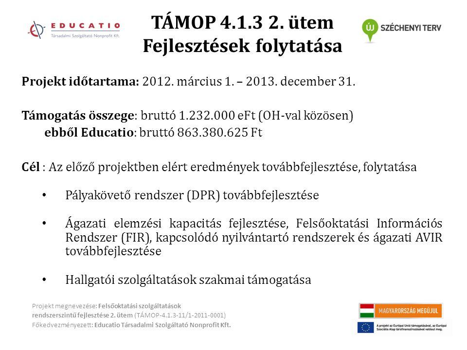 TÁMOP 4.1.3 2.